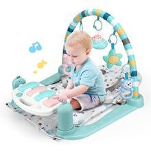 Kidlove 2-в-1 Детские Фитнес пианино Складная Детские музыкальные стул для детей раннего образования Игрушка Рождественский подарок