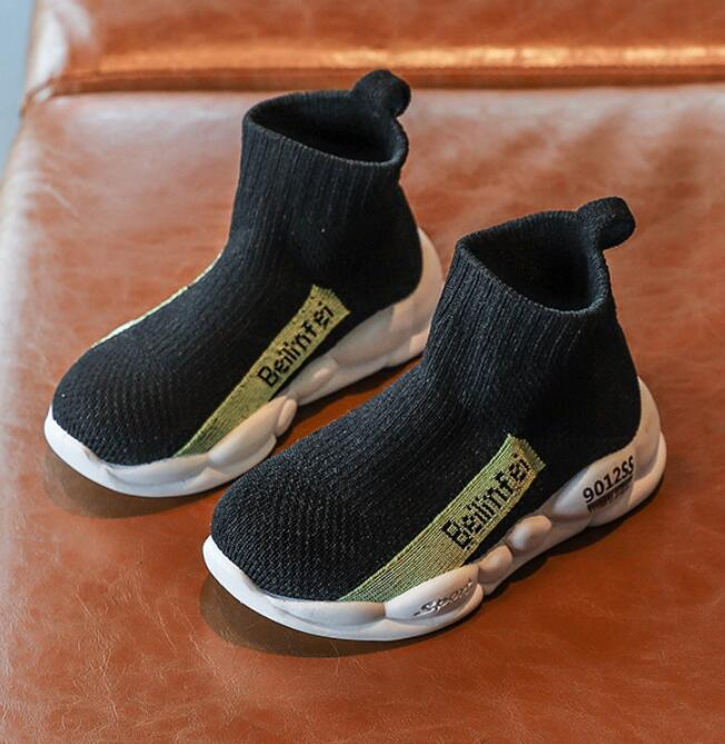 2020 New Brand Toddler Shoes Children Canvas Shoes Fashion Kids Soft Bottom Mesh Breathable Sport Running Sneakers For Baby