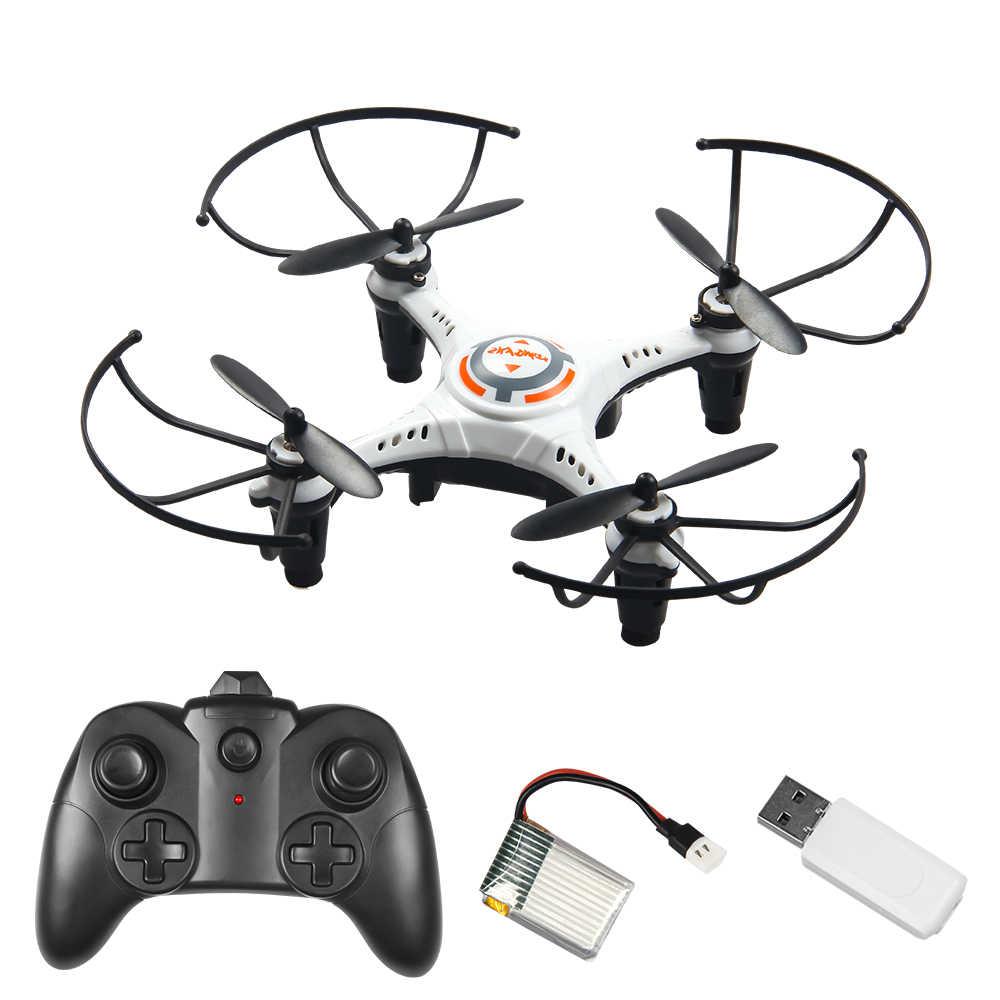"""מזל """"טים Rc מסוק מיני Rc Drone ללא מצלמה צעצוע Profissional 6ch Selfie זול לבן שחור מתקפל מיקרו Quadrocopter צעצוע"""