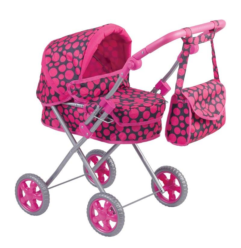 Faire semblant de jouer poupée poussette meubles jouets maison de poupée poussette chariot enfants Simulation jouets bébé landau pour enfants livraison gratuite