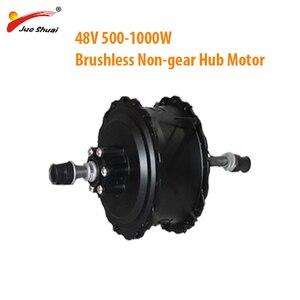 Sem escova não-engrenagem hub motor e-bicicleta 500 w-1000 w 48 v gordura 4.0 pneu 55 km/h sem escova 20