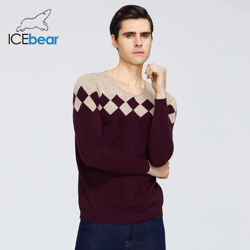 ICEbear 2019 Herbst Neue Männliche Pullover Casual männer Pullover Marke Männer Kleidung der 1720