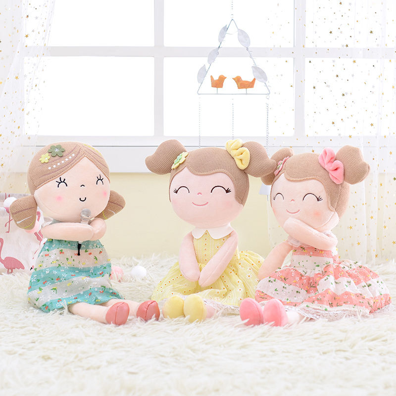 Gloveleya Plush Toys Baby Dolls Gifts Dolls Kids Rag Doll Plush Toys Kawaii Dolls For Girls Gifts Birthday Gifts