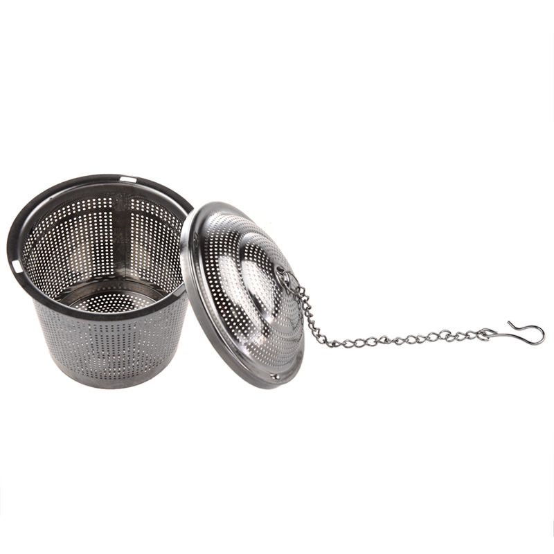 Promotion! Practical Tea Ball Strainer Mesh Infuser Filter Stainless Steel New