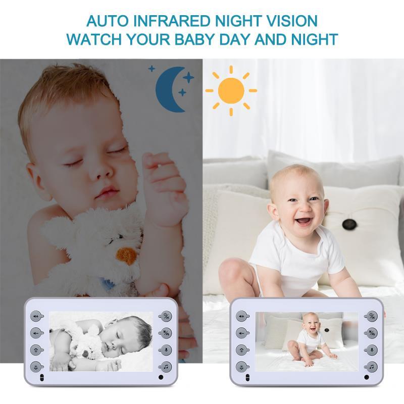 camera infravermelha de alta resolucao wifi seguranca do bebe 04