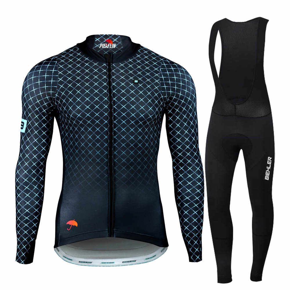 2019 pimme Pro team Winter Long Sleeve Cycling Jersey Set MTB Bike Clothing Uniform Thermal Fleece Bicycle Maillot Ropa Ciclismo