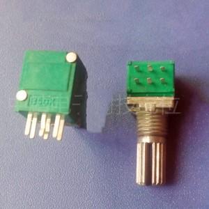 5pcs 097 pacote plástico Ráquis duplex potenciômetro Ajustável ajuste de volume resistência 10 5 2 1k K K K 50 20K K 100k 2.54 MILÍMETROS RP