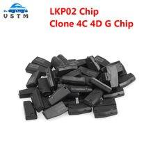 Cloner LKP02 – puce Clone 4C 4D G, transpondeur LKP02(4D + 4C + G), Via Tango ou Keyline 884, 5 à 20 pièces, livraison gratuite