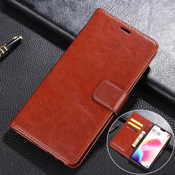 Skinlee For Infinix Hot 9 Case Luxury Flip Cover Wallet Leather Case Bags With Soft Frame Phone Cover For Infinix Hot 9