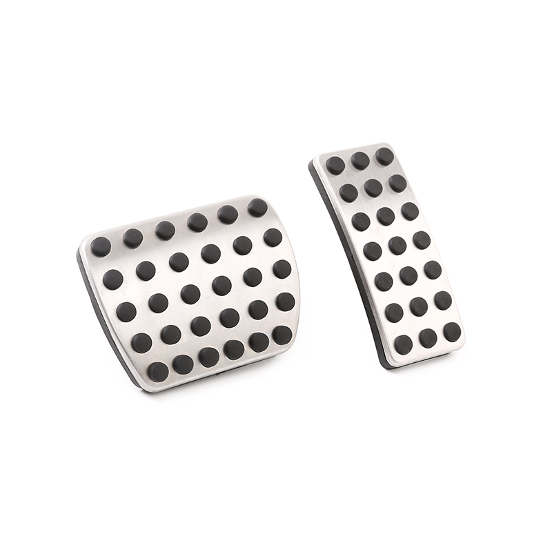 LLKUANG at Foot Pedal Gas Fuel Brake Pedal for Mercedes Benz A B GLB Class W177 W247 X247 2020 Stainless Steel