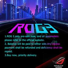 "Pre-Sale Asus ROG 3 5G Gaming Phone 6.59 ""8/12/16GB RAM 128/256/512GB ROM Snapdragon 865 Plus dual SIM Asus ROG Phone 3 Mobile(China)"