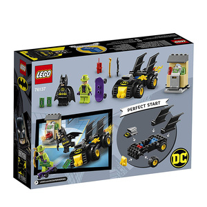 Image 5 - LEGO DC Super Heroes Batman vs the Riddler robbery Building Kit Lego Ninjago Duplo Building Block 76137 DIY Educational Toy