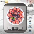 Digital Multi-Funktion Lebensmittel Küche Waage 11lb/ 22lb 5kg/ 10kg Edelstahl Plattform LCD Display gramm Unzen Kochen Backen