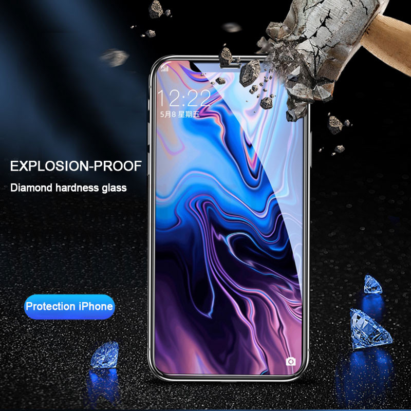 30D Full Cover Tempered Glass on For iphone 11 12 PRO MAX Screen Protector Protective Glass For iphone 11 12 X XR XS MAX Glass 4