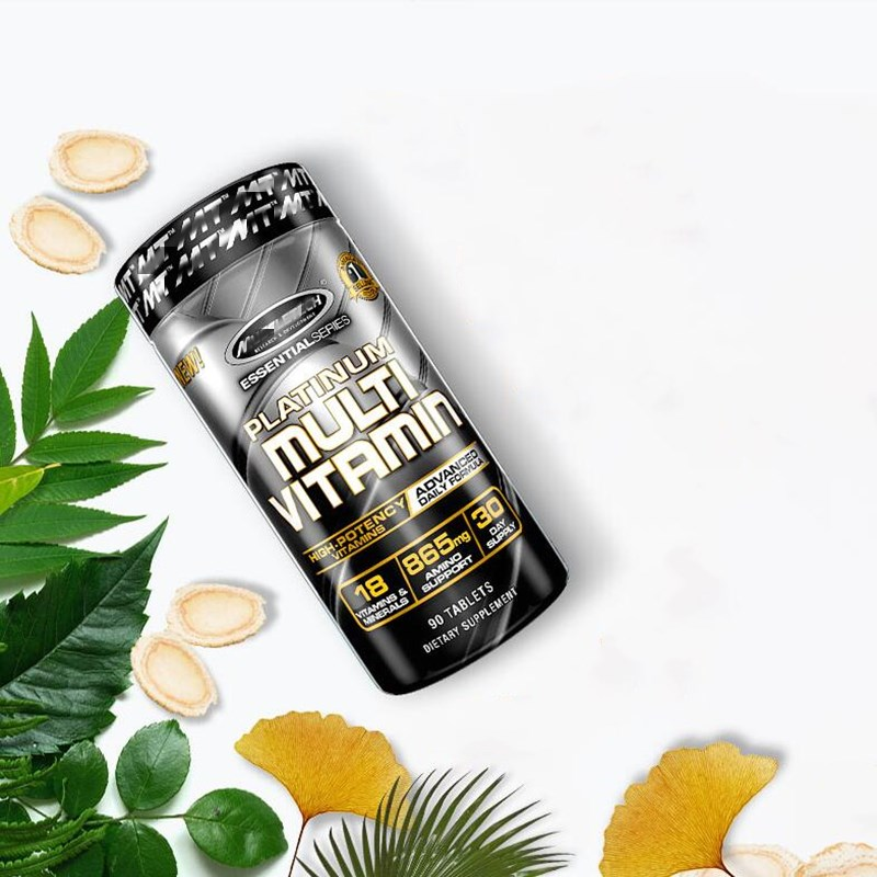 Muscle science and technology compound vitamins fitness multivitamin B group B2 men and women muscle recovery