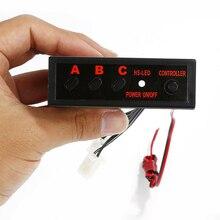 4 способа светодиодный стробоскоп вспышка свет 3 аварийные режимы контроллер для переключения режимов мигания блок модулей автомобиля свет аксессуар