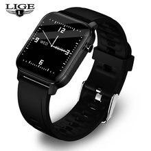 Смарт часы lige мужские/женские водонепроницаемые с сенсорным