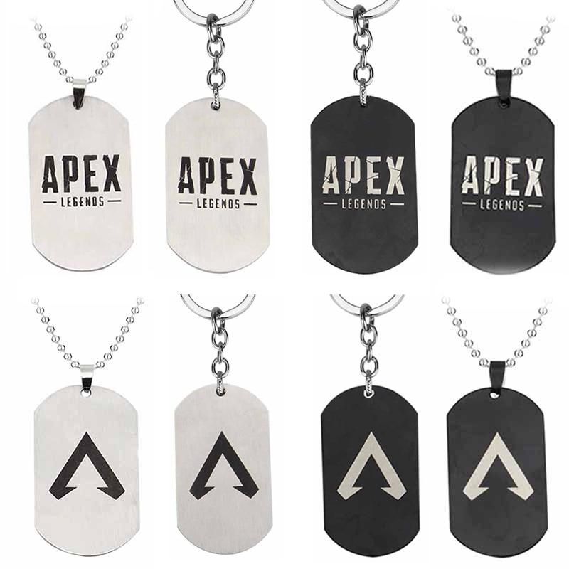 Хит 2019, брелок с логотипом APEX, брелок с легендами Apex, металлическая цепочка с подвеской, брелок из сплава, игрушки на цепочке для ключей, ювелирные изделия, подарки