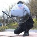 Защитный щит от беспорядков ручной прозрачный зеркальный Карманный защитный щит Улучшенный