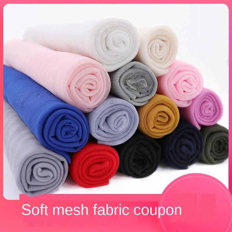 Soft Gauze Fabric Mosquito Net Yarn Fabric Clothing Veil Encryption Lace Mesh Mesh Fabric Casual Wedding Dress Lining