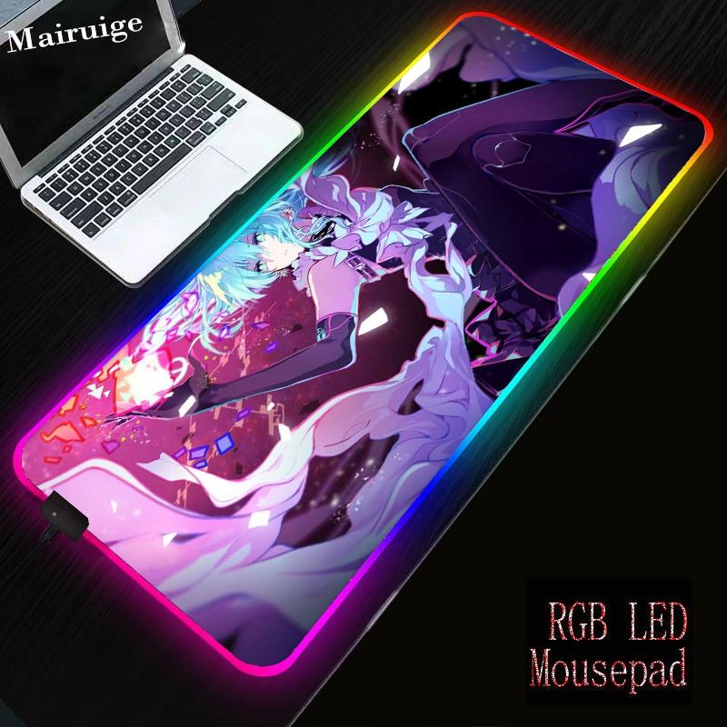 Купить большой коврик для мыши mairuige rgb со светодиодной подсветкой