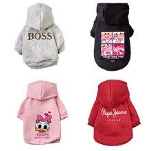 Теплая одежда для кошек, Зимняя Одежда для питомцев, модная одежда для кошек, пальто, мягкий свитер, толстовка с капюшоном, кролик, животные, весенние товары для питомцев, 1b44