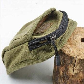 NEW 1pcs Slingshot fine Material canvas bags Balls Bag Case Pouch Holster Sling Shot Hunting Sports slingshot Accessories 2