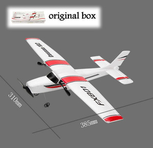 DIY RC Plane Toy EPP Craft Foam Electric Outdoor Remote Control Glider FX-801 901Remote Control Airplane DIY Fixed Wing Aircraft