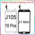 Оптовая продажа 10 шт./лот для Samsung J1 Mini J105 сенсорный экран дигитайзер стеклянная панель