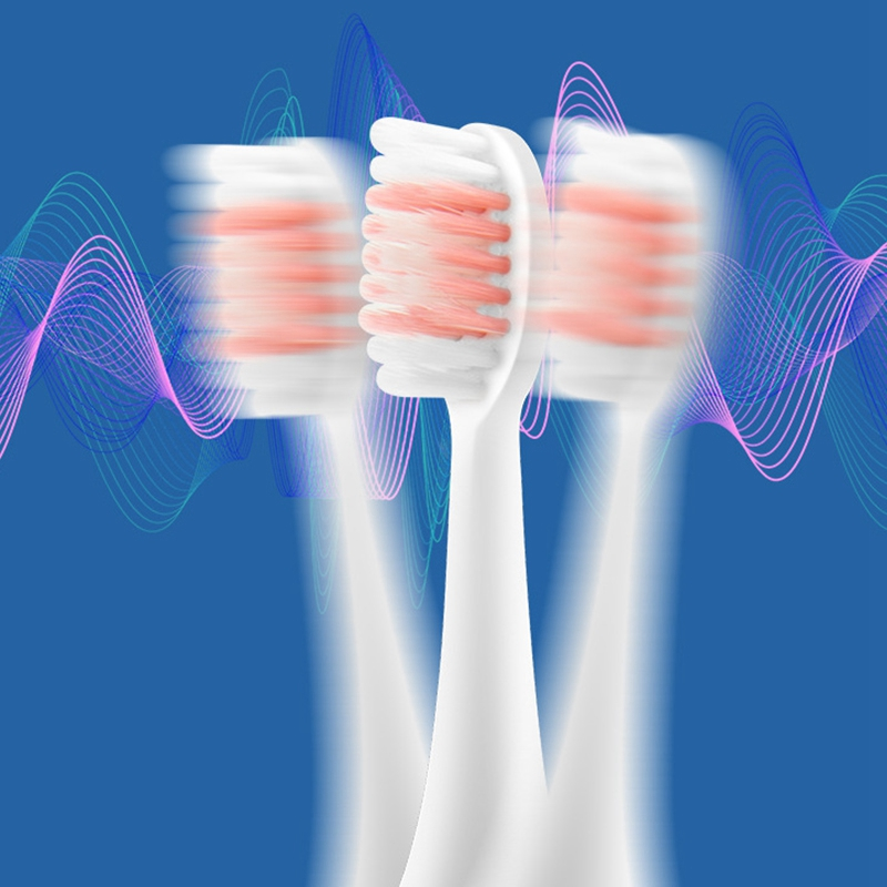 Electric Toothbrush Adult Sonic Brush USB Replacement Brush Heads