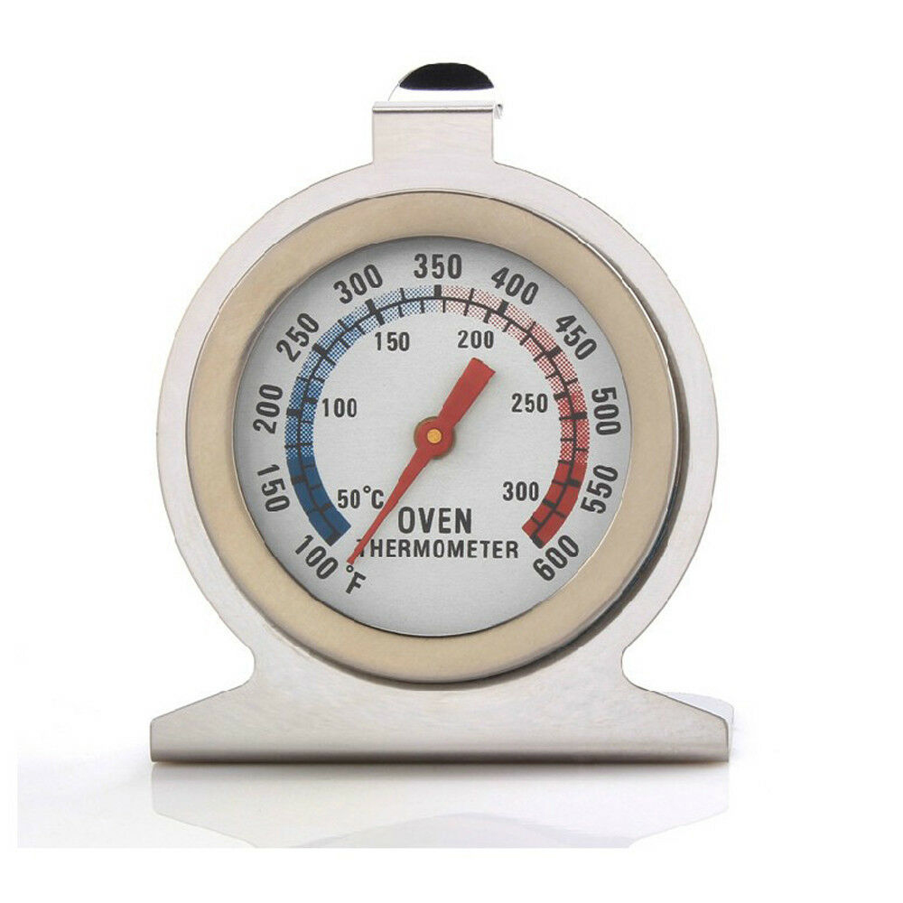 Kitchen Oven Thermometers Stainless Steel Food Meat Dial Thermometer Temperature Gauge Household Supplies