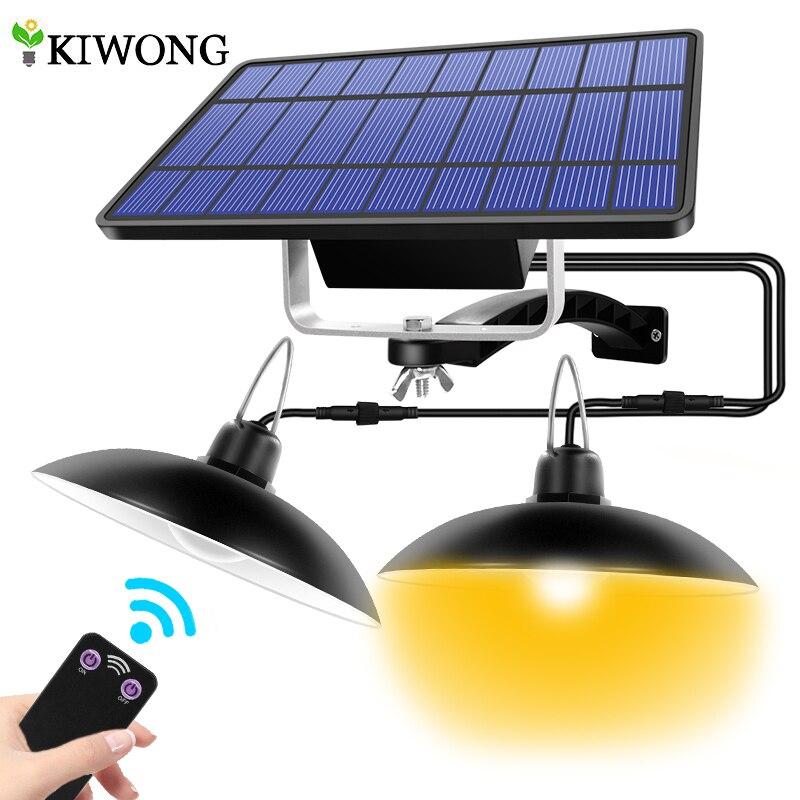 Lampe solaire extérieure ou intérieure pour camping ou jardin, éclairage chaud et blanc à double tête avec ligne, amaryllis