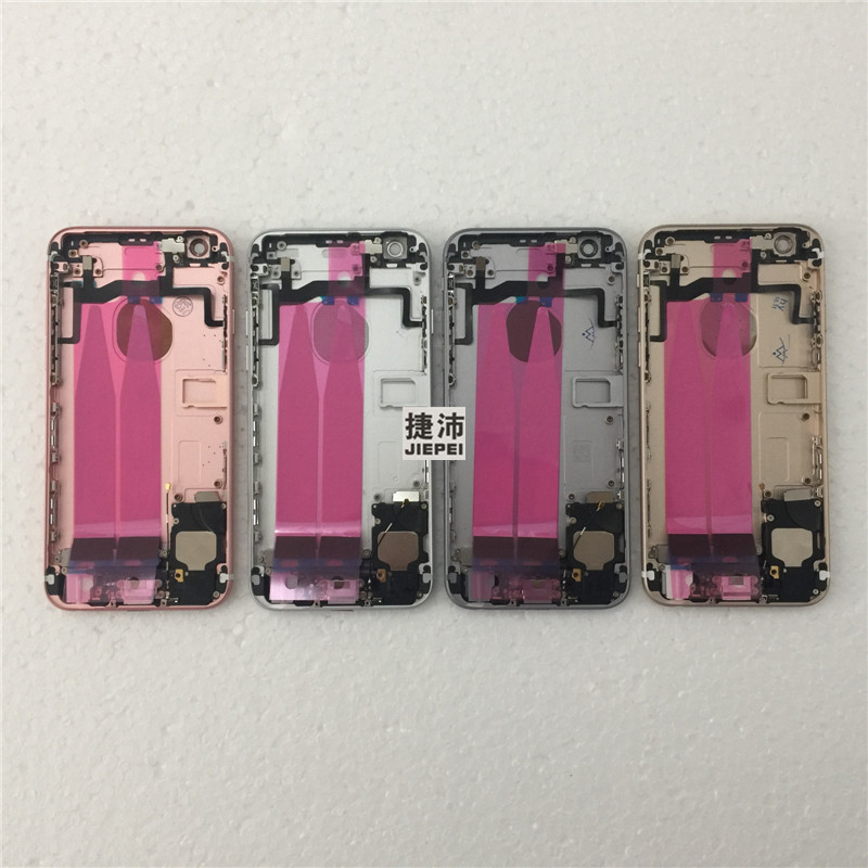 JIEPEI Assembly Chassis iPhone 6s Full-Housing Battery-Cover Door Back Middle-Frame Rear