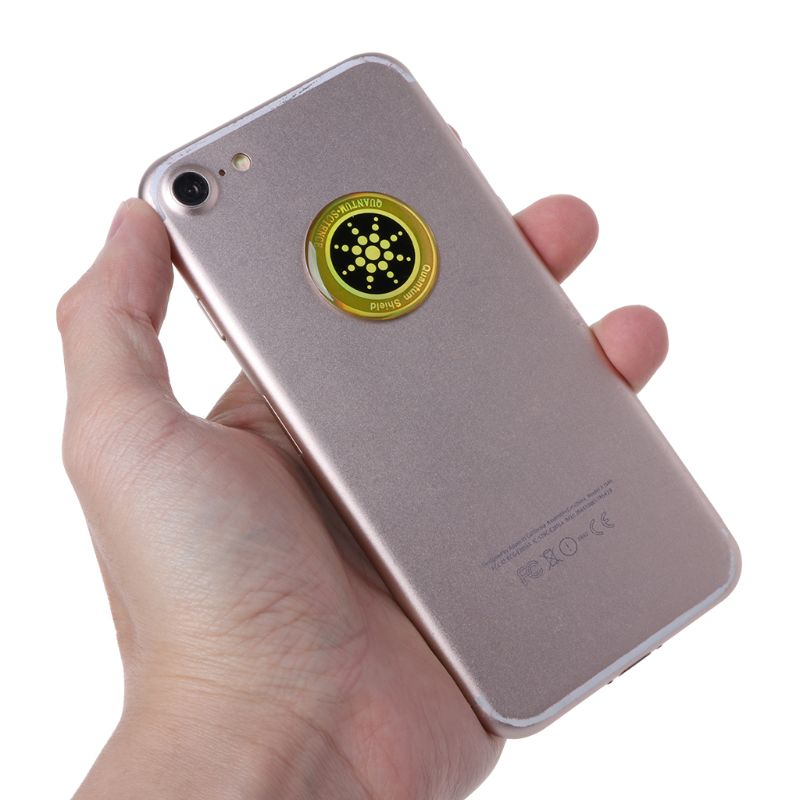 1PC Quantum Shield Sticker Mobile Phone Sticker For Cell Phone Anti Radiation Protection From EMF Fusion Excel Anti-Radiation