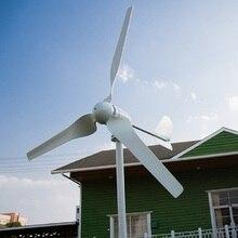 Turbina eólica horizontal 24 v/48 v do r & x 600 w opcional com controlador de potência para a lâmpada da casa da carga
