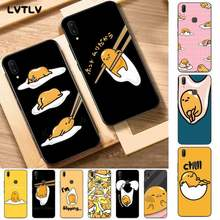 LVTLV Cartoon Gudetama Lazy Egg Fitted Luxury Unique Phone Cover for Vivo Y91C 31 53 19 11 17 81 55 66 69 71 V11 i 9 7 67(China)