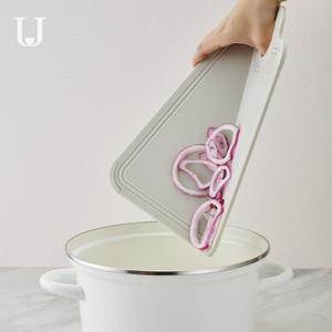 Image 5 - Youpin Jordan & Judy Foldable 커팅 보드 주방 커팅 보드 가정용 미니 과일 커팅 보드 식품 학년 PP + 실리콘