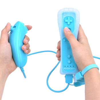 Built-in Motion Plus Wireless Remote Gamepad Controller For Nintend Wii Nunchuck For Nintend Wii Remote Controle Joystick Joypad 3