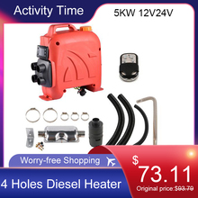 5KW Diesel Air Heater Parking Fuel  Car Heater for RV Boats Motorhome Trucks Trailer Boat Touring Car Bus 12V 24V Dropshipping