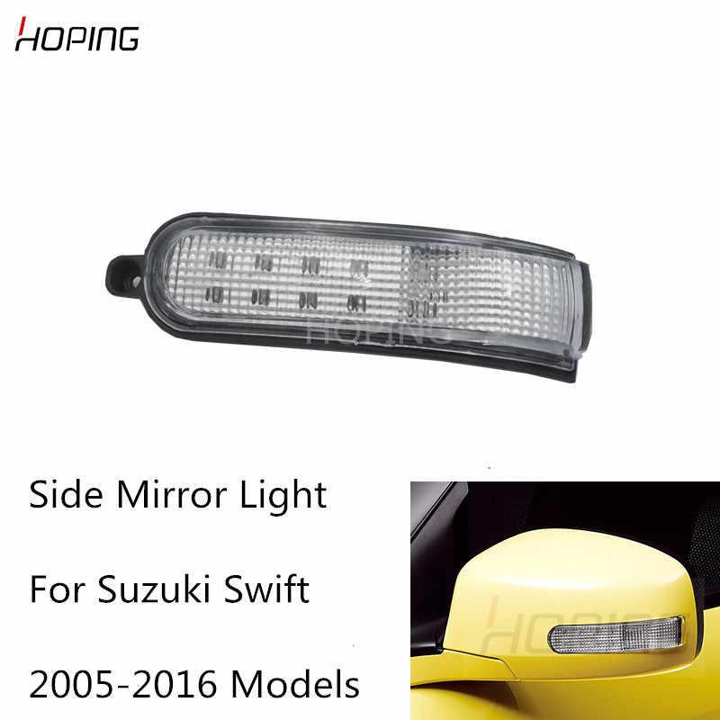 Suzuki sin intermitente Juego de cubiertas para espejo retrovisor exterior para Suzuki Swift