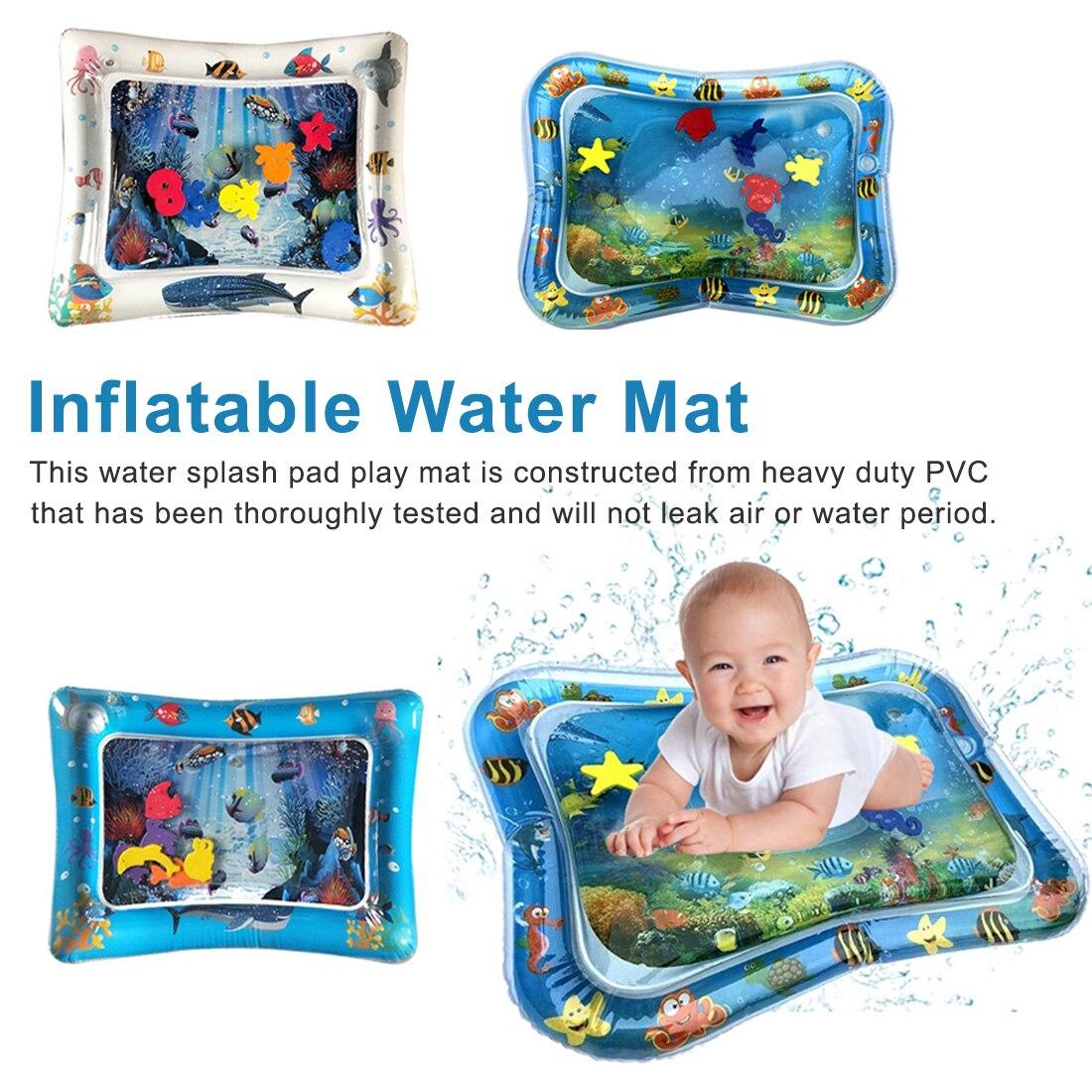 Baby Crawling Water Mat Inflatable Play Pat Play Mat Toddler Pad Newborn Baby Cushion Play Water Cushion Pad Summer Hot Selling
