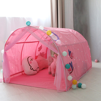 Baby Tent Children Bed Tent Game Play House Indoor House Folding Baby Playhouse Dream Tent Boy Girl Safe House Tunnel Tent Gifts