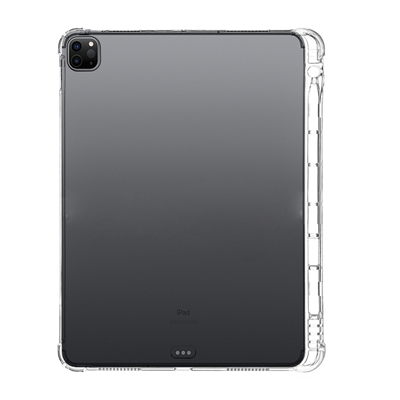 2018 For A2459 12.9 A2461 11 iPad Capa Pro 11 For iPad Pencil A2379 Holder 2020 A2031 Pro 2021 Silicone 12.9 Pro Case 2021 With