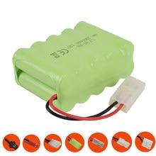 Batterie NiMH 12 V, 2800 mah, pièces pour jouets Rc, voiture, réservoirs, Trains, Robots, bateaux, armes à feu, Ni-MH AA 2800 mah, 12 v, Rechargeable