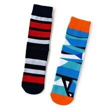Women Men Unisex Stripe Socks Short Funny Cotton Colorful Skateboard Harajuku Streetwear Hip Hop
