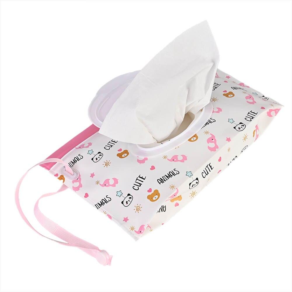 Уход за ребенком влажный пылесос экологически чистый влажный тканевый чехол чистящие салфетки контейнер портативный влажные салфетки для экрана EVA застежка-молния салфетки мешок