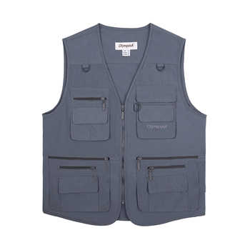 Fishing Vest Men Summer Traveler Sleeveless Jackets Waistcoat Outdoors Casual Vest With Many Pockets Large Size 5XL - DISCOUNT ITEM  41% OFF All Category