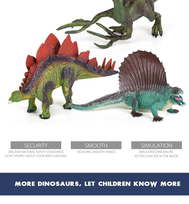 Dinossauro festa simulação animal tyrannosaurus rex modelo