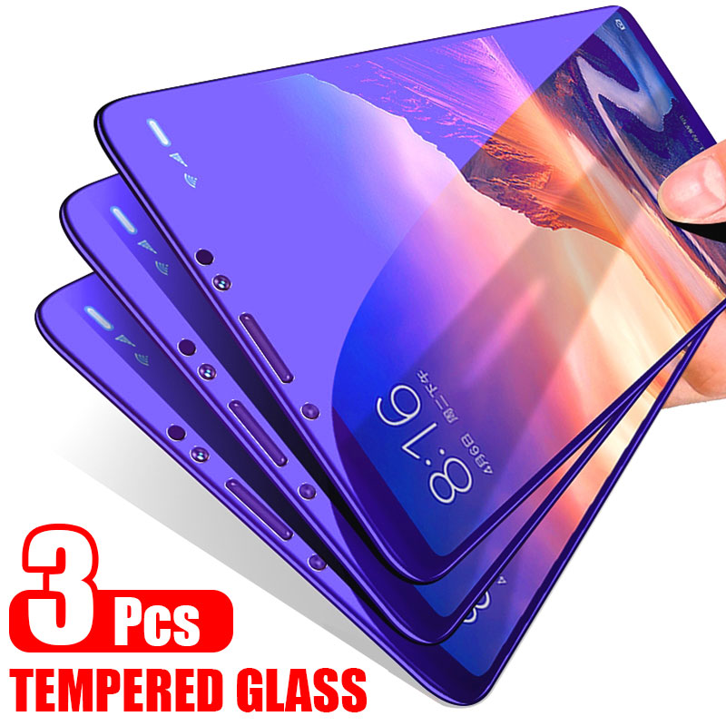 ZNP 3Pcs 9H Full Cover Tempered Glass For Samsung Galaxy A5 A7 A9 A6 A8 Plus Screen Protector For Samsung J4 J6 Plus A8 A9 Glass