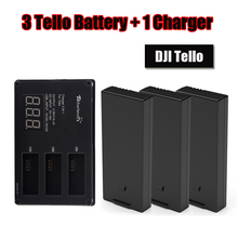 DJI Tello Flight Battery with + charger charging hub For Drone Accessories